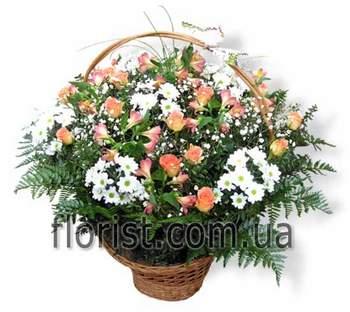 Flowers basket Flowers of elation