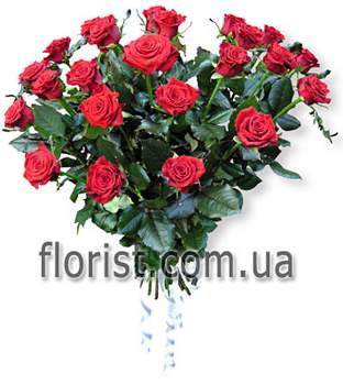 Arrangement of roses Unforgettable